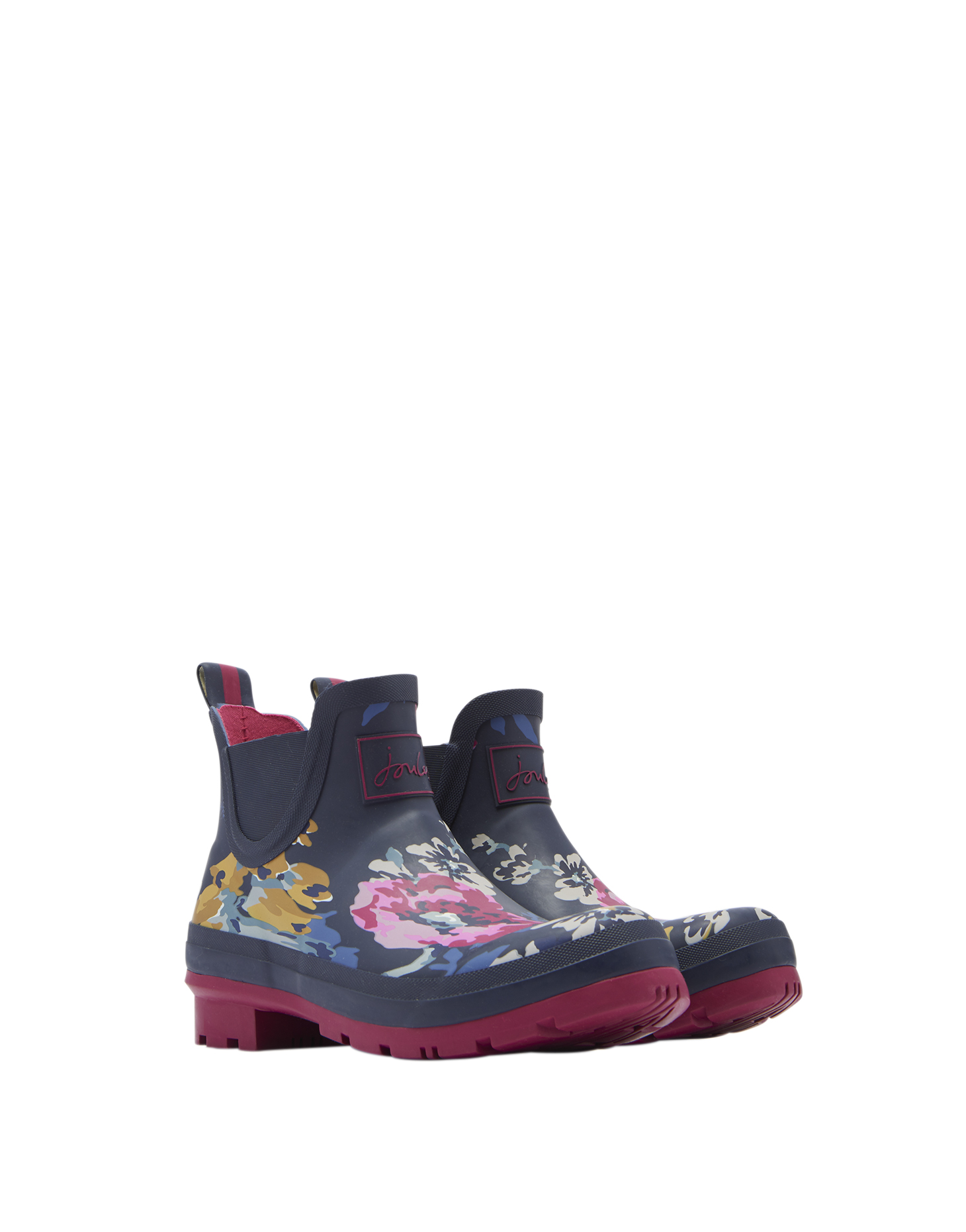 Joules-Wellibob-Short-Height-Printed-Wellies-Welly-Boot-ALL-COLOURS miniature 7