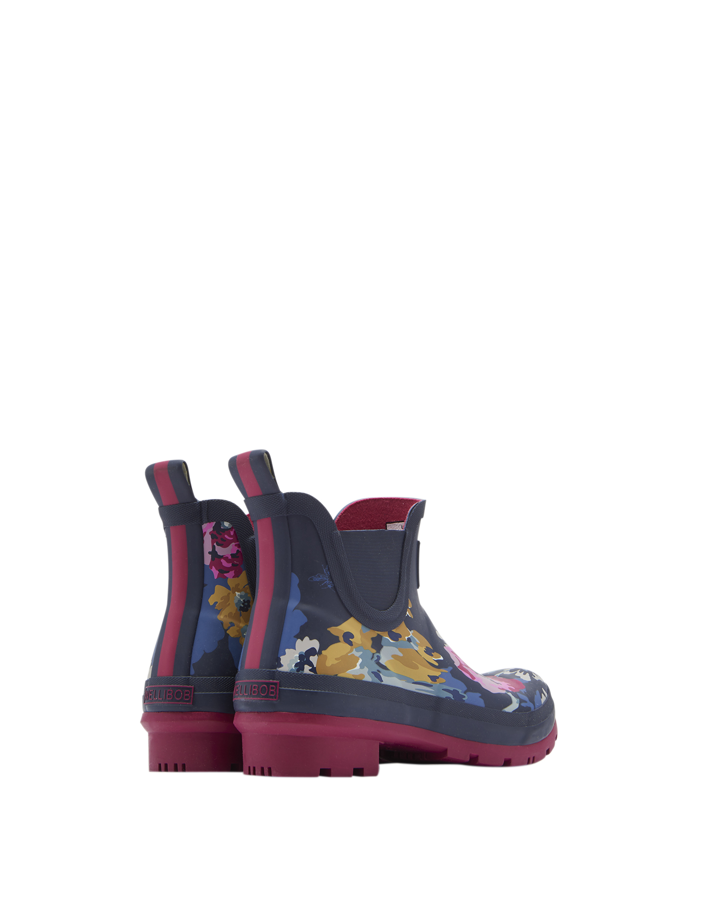 Joules-Wellibob-Short-Height-Printed-Wellies-Welly-Boot-ALL-COLOURS miniature 8